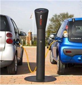 car charging upstand